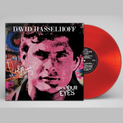 David Hasselhoff - Open Your Eyes - LP COLOURED