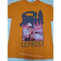 Death - Leprosy (Orange) - T-shirt (Men)