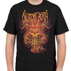 Decrepit Birth - Skull King - T-shirt (Men)