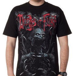 Deeds Of Flesh - Grey Alien - T-shirt (Men)