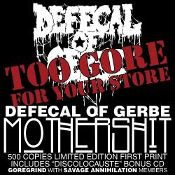 Defecal Of Gerbe - Mothershit - 2CD DIGIPAK