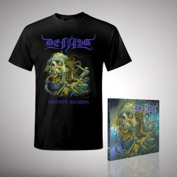 Defiled - Infinite Regress - CD DIGIPAK + T-shirt bundle (Men)