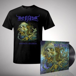 Defiled - Infinite Regress - LP gatefold + T-shirt bundle (Men)
