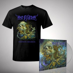 Defiled - Infinite Regress - LP gatefold coloured + T-shirt bundle (Men)