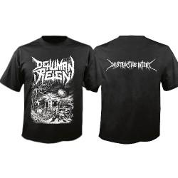 Dehuman Reign - Destructive Intent - T-shirt (Men)