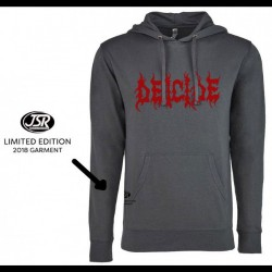 Deicide - Logo - Hooded long sleeve shirt (Men)