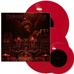 """Demons & Wizards - III - 2LP + 7"""" artbook"""
