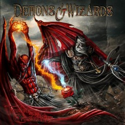 Demons & Wizards - Touched by the Crimson King - DOUBLE LP GATEFOLD COLOURED