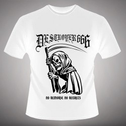 Deströyer 666 - No Remorse No Regrets - T-shirt (Men)