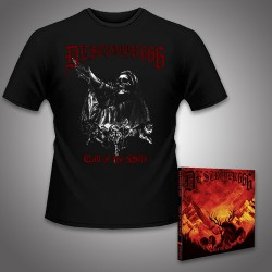 Deströyer 666 - Call Of The Wild - CD DIGIPAK + T-shirt bundle (Men)