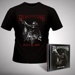 Deströyer 666 - Call Of The Wild - CD EP + T-SHIRT (Men)