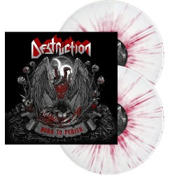 Destruction - Born To Perish - DOUBLE LP GATEFOLD COLOURED