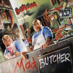 Destruction - Mad Butcher - CD EP slipcase