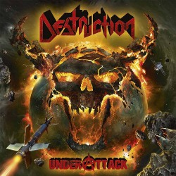 Destruction - Under Attack - DOUBLE LP GATEFOLD COLOURED