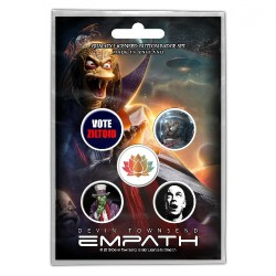 Devin Townsend - Empath - BUTTON BADGE SET