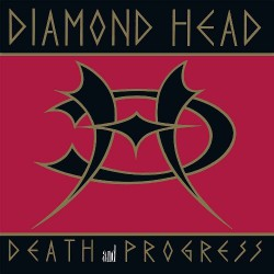 Diamond Head - Death And Progress - LP Gatefold Coloured