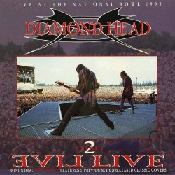 Diamond Head - Evil Live - DOUBLE CD