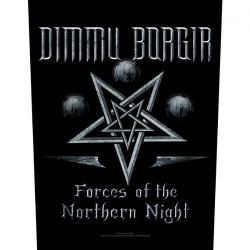 Dimmu Borgir - Forces Of The Northern Night - BACKPATCH