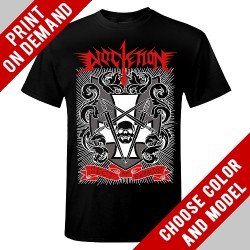 Diocletian - Sect Of Swords Red Logo - Print on demand