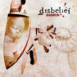 Disbelief - 66sick - CD