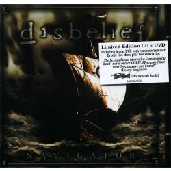 Disbelief - Navigator LTD Edition - CD + DVD