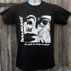 Discharge - Hear nothing - T-shirt (Men)
