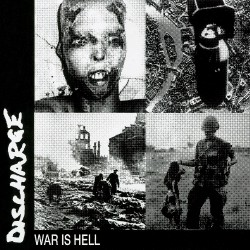 Discharge - War Is Hell - LP COLOURED