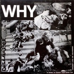 Discharge - Why - LP Gatefold