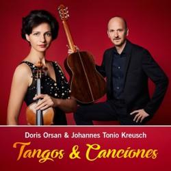 Doris Orsan & Johannes Tonio Kreusch - Tangos & Canciones - CD DIGIPAK