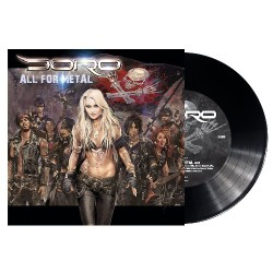 "Doro - All For Metal - 7"" vinyl"