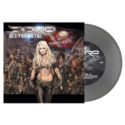 "Doro - All For Metal - 7"" vinyl coloured"