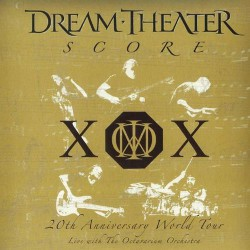 Dream Theater - Score: 20th Anniversary World Tour - 3CD DIGISLEEVE