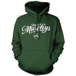 Dropkick Murphys - Boston's Finest Script - Hooded Sweat Shirt (Men)
