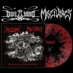 "Drowning / Misgivings - Requiem For Gods Perdition - 10"" coloured vinyl"