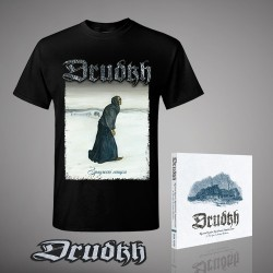 Drudkh - A Few Lines In Archaic Ukrainian - CD Digipak + Backpatch + T-shirt bundle (Men)