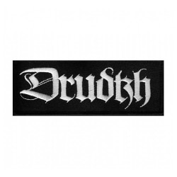 Drudkh - Logo Silver - EMBROIDERED PATCH
