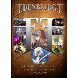Edenbridge - A Decade And A Half - The History So Far - 6 DVD SET