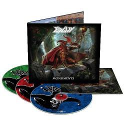 Edguy - Monuments - 2CD + DVD digipak