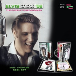 Elvis Presley - Elvis Studio Sessions '56 - The Complete Recordings - 3CD + BOOK