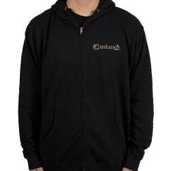 Enslaved - Bear & Fish - Hooded Sweat Shirt Zip (Men)