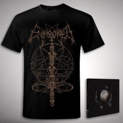 Enthroned - Bundle 1 - CD DIGIPAK + T-shirt bundle (Men)