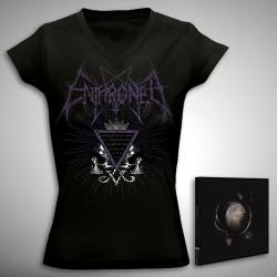 Enthroned - Bundle 3 - CD DIGIPAK + T-shirt bundle (Women)