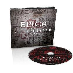 Epica - Epica vs. Attack On Titan Songs - CD EP DIGIPAK