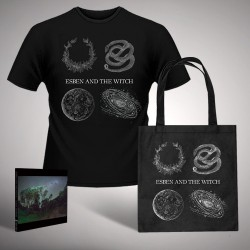 Esben And The Witch - Bundle 8 - CD Digisleeve + tote bag + T-shirt (Men)