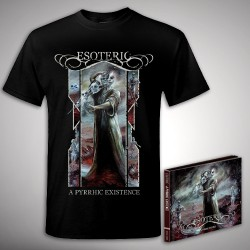 Esoteric - A Pyrrhic Existence - 2CD DIGIBOOK + T-shirt bundle (Men)