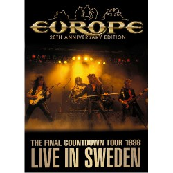Europe - Live in Sweden - DVD