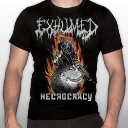 Exhumed - Necrocracy - T-shirt (Men)
