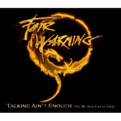 Fair Warning - Talking Ain't Enough - Fair Warning Live In Tokyo - DOUBLE DVD + 3 CD BOX