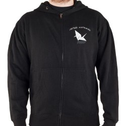 Fates Warning - Darkness Bird - Hooded Sweat Shirt Zip (Men)