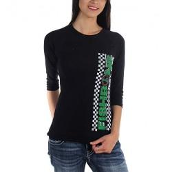 Fishbone - Chekered-Est 1985 - Raglan-Shirt (Women)
